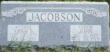 KRUSELL JACOBSON, JOHN - Blaine County, Nebraska   JOHN KRUSELL JACOBSON - Nebraska Gravestone Photos