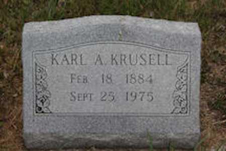 KRUSELL, KARL A. - Blaine County, Nebraska   KARL A. KRUSELL - Nebraska Gravestone Photos