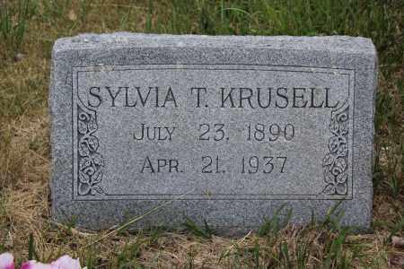 COOPER KRUSELL, SYLVIA - Blaine County, Nebraska | SYLVIA COOPER KRUSELL - Nebraska Gravestone Photos