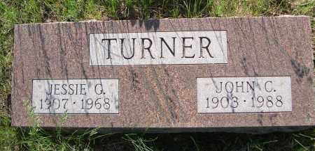 TURNER, JESSIE G. - Blaine County, Nebraska   JESSIE G. TURNER - Nebraska Gravestone Photos