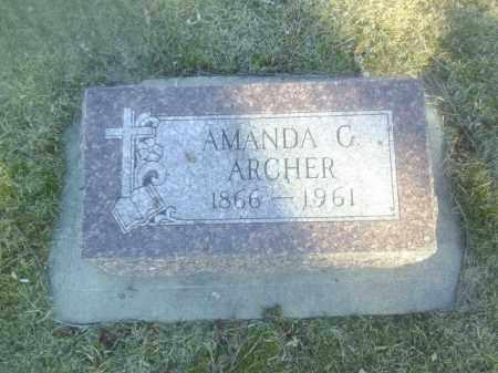 ARCHER, AMANDA - Boone County, Nebraska | AMANDA ARCHER - Nebraska Gravestone Photos