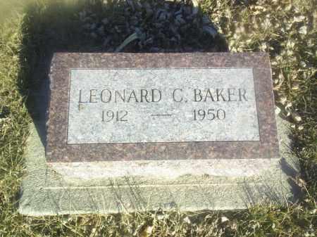 BAKER, LEONARD - Boone County, Nebraska | LEONARD BAKER - Nebraska Gravestone Photos