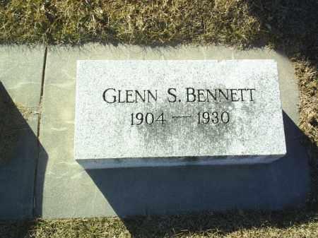 BENNETT, GLENN - Boone County, Nebraska | GLENN BENNETT - Nebraska Gravestone Photos