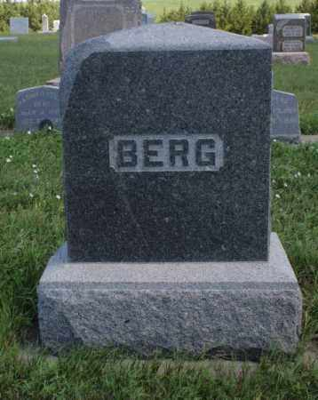 BERG, FAMILY - Boone County, Nebraska | FAMILY BERG - Nebraska Gravestone Photos