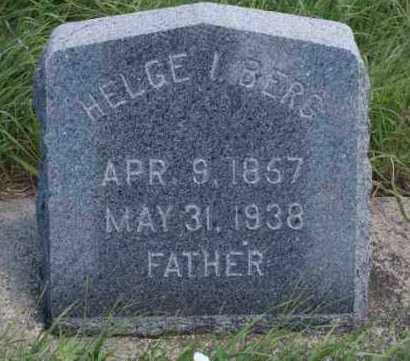 BERG, HELGE I. - Boone County, Nebraska | HELGE I. BERG - Nebraska Gravestone Photos