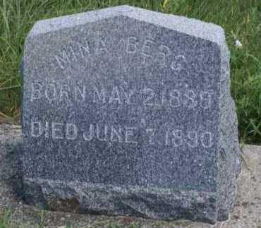 BERG, MINA - Boone County, Nebraska | MINA BERG - Nebraska Gravestone Photos