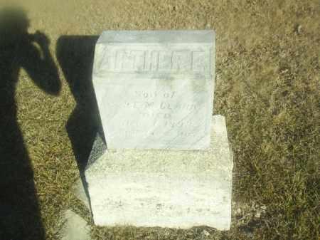 CLARK, ARTHER - Boone County, Nebraska | ARTHER CLARK - Nebraska Gravestone Photos