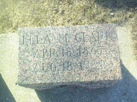 CLARK, ELLA - Boone County, Nebraska | ELLA CLARK - Nebraska Gravestone Photos