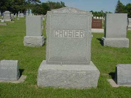 CROSIER, FAMILY PLOT - Boone County, Nebraska   FAMILY PLOT CROSIER - Nebraska Gravestone Photos