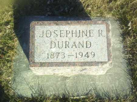 DURAND, JOSEPHINE - Boone County, Nebraska   JOSEPHINE DURAND - Nebraska Gravestone Photos