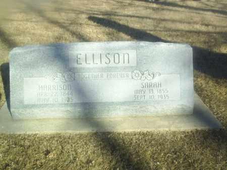 ELLISON, SARAH - Boone County, Nebraska   SARAH ELLISON - Nebraska Gravestone Photos
