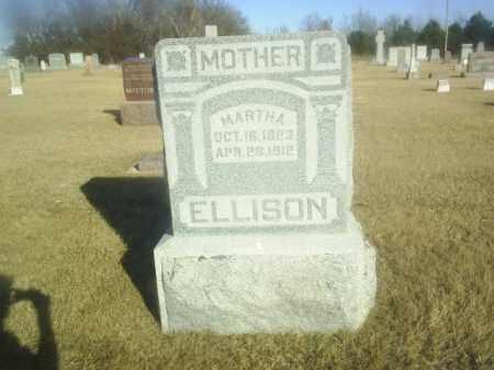 ELLISON, MARTHA - Boone County, Nebraska   MARTHA ELLISON - Nebraska Gravestone Photos