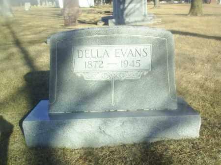 EVANS, DELLA - Boone County, Nebraska   DELLA EVANS - Nebraska Gravestone Photos