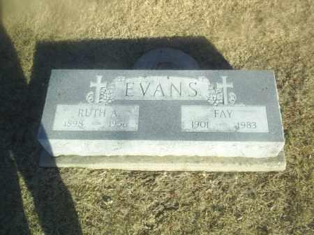 EVANS, FAY - Boone County, Nebraska   FAY EVANS - Nebraska Gravestone Photos