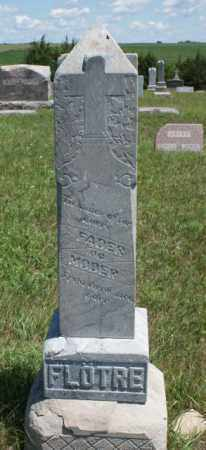 FLOTRE, FAMILY - Boone County, Nebraska | FAMILY FLOTRE - Nebraska Gravestone Photos