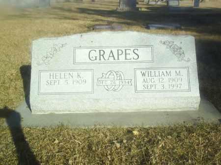 GRAPES, WILLIAM - Boone County, Nebraska | WILLIAM GRAPES - Nebraska Gravestone Photos