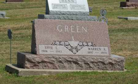 GREEN, WARREN A. - Boone County, Nebraska | WARREN A. GREEN - Nebraska Gravestone Photos