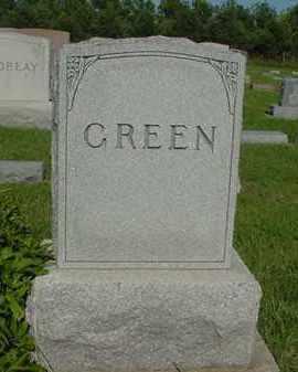 GREEN, FAMILY PLOT - Boone County, Nebraska | FAMILY PLOT GREEN - Nebraska Gravestone Photos
