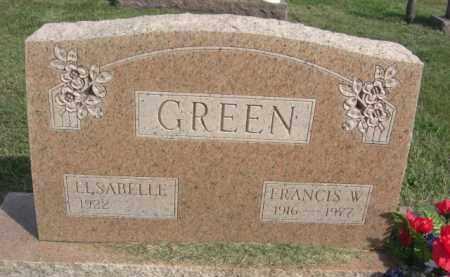GREEN, ELSABELLE - Boone County, Nebraska | ELSABELLE GREEN - Nebraska Gravestone Photos