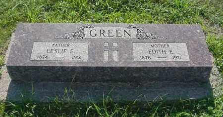GREEN, EDITH E. - Boone County, Nebraska | EDITH E. GREEN - Nebraska Gravestone Photos