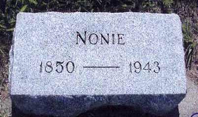 GREEN, NONIE S. - Boone County, Nebraska | NONIE S. GREEN - Nebraska Gravestone Photos
