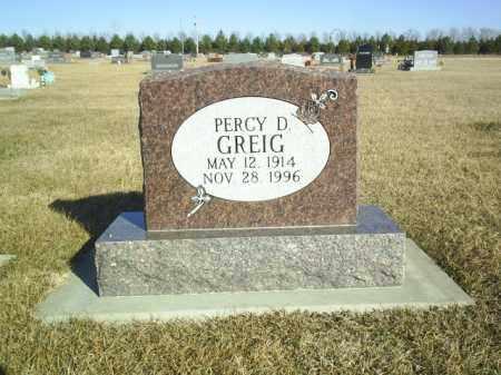 GREIG, PERCY - Boone County, Nebraska | PERCY GREIG - Nebraska Gravestone Photos