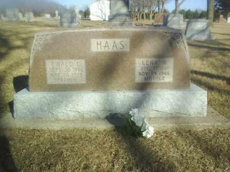 HAAS, EWALD - Boone County, Nebraska | EWALD HAAS - Nebraska Gravestone Photos