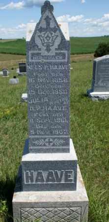 HAAVE, NELS P. - Boone County, Nebraska | NELS P. HAAVE - Nebraska Gravestone Photos