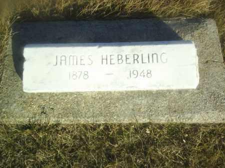 HEBERLING, JAMES - Boone County, Nebraska | JAMES HEBERLING - Nebraska Gravestone Photos