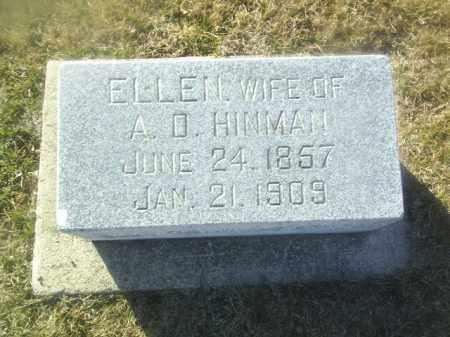 HINMAN, ELLEN - Boone County, Nebraska   ELLEN HINMAN - Nebraska Gravestone Photos
