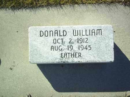 HIRSCH, DONALD - Boone County, Nebraska   DONALD HIRSCH - Nebraska Gravestone Photos