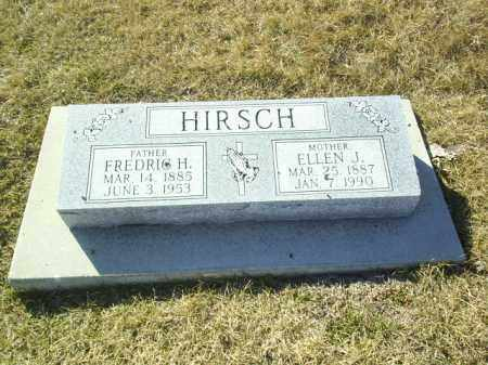 HIRSCH, FREDRIC - Boone County, Nebraska | FREDRIC HIRSCH - Nebraska Gravestone Photos