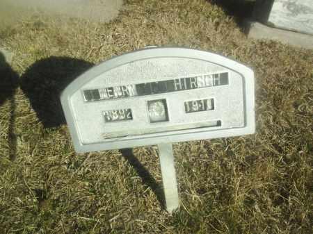 HIRSCH, HENRY - Boone County, Nebraska   HENRY HIRSCH - Nebraska Gravestone Photos