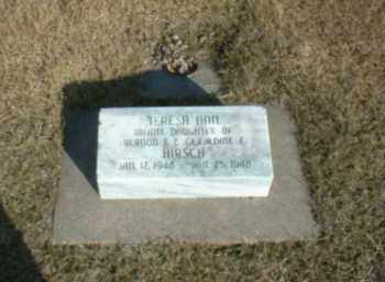HIRSCH, TERESA - Boone County, Nebraska   TERESA HIRSCH - Nebraska Gravestone Photos