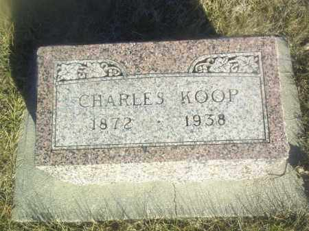 KOOP, CHARLES - Boone County, Nebraska | CHARLES KOOP - Nebraska Gravestone Photos