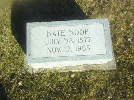 KOOP, KATE - Boone County, Nebraska | KATE KOOP - Nebraska Gravestone Photos