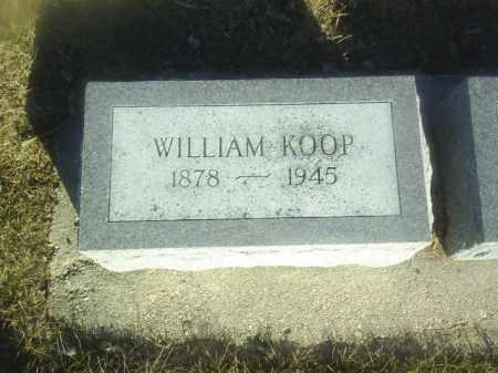 KOOP, WILLIAM - Boone County, Nebraska | WILLIAM KOOP - Nebraska Gravestone Photos