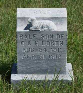 LOKEN, RALF - Boone County, Nebraska   RALF LOKEN - Nebraska Gravestone Photos