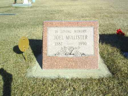 MCALLISTER, JOEL - Boone County, Nebraska | JOEL MCALLISTER - Nebraska Gravestone Photos