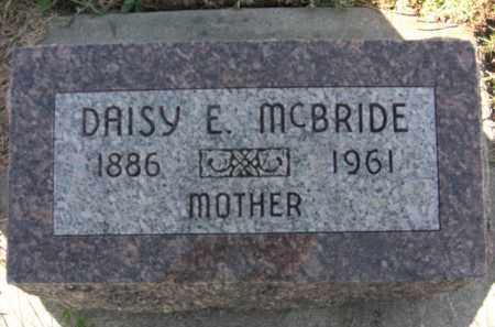 ALDRICH MCBRIDE, DAISY E. - Boone County, Nebraska | DAISY E. ALDRICH MCBRIDE - Nebraska Gravestone Photos