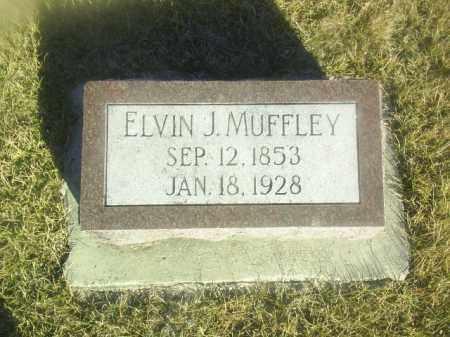 MUFFLEY, ELVIN - Boone County, Nebraska | ELVIN MUFFLEY - Nebraska Gravestone Photos