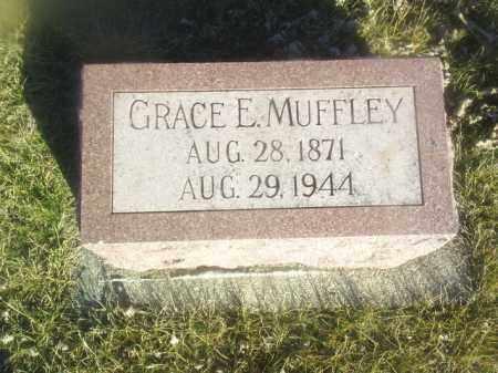 MUFFLEY, GRACE - Boone County, Nebraska   GRACE MUFFLEY - Nebraska Gravestone Photos