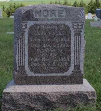 NORE, LARS I. - Boone County, Nebraska | LARS I. NORE - Nebraska Gravestone Photos