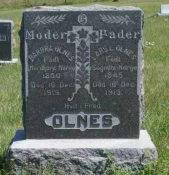 OLNES, LARS L. - Boone County, Nebraska | LARS L. OLNES - Nebraska Gravestone Photos
