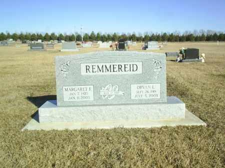 REMMEREID, ORVAN - Boone County, Nebraska | ORVAN REMMEREID - Nebraska Gravestone Photos
