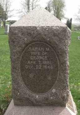REYMOLDSON, SARAH - Boone County, Nebraska   SARAH REYMOLDSON - Nebraska Gravestone Photos