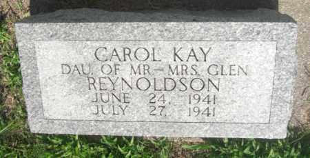 REYNOLDSON, CAROL KAY - Boone County, Nebraska | CAROL KAY REYNOLDSON - Nebraska Gravestone Photos