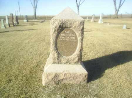 REYNOLDSON, EARL - Boone County, Nebraska | EARL REYNOLDSON - Nebraska Gravestone Photos