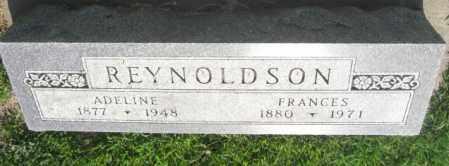 REYNOLDSON, ADELINE - Boone County, Nebraska   ADELINE REYNOLDSON - Nebraska Gravestone Photos
