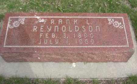 REYNOLDSON, FRANK LORING BLISS - Boone County, Nebraska   FRANK LORING BLISS REYNOLDSON - Nebraska Gravestone Photos